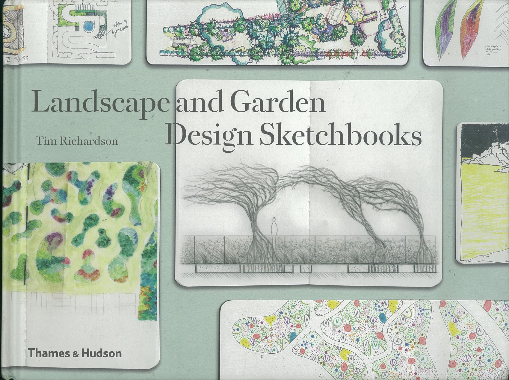 Its out landscape and garden design sketch book for Garden design books