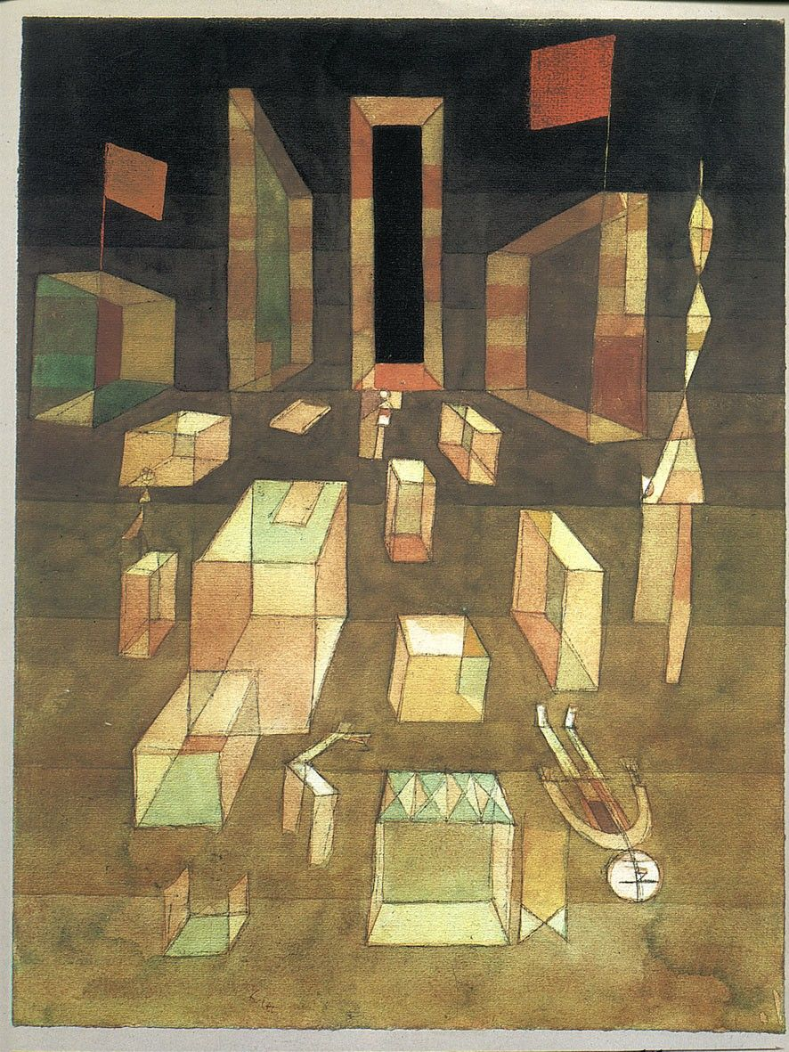 paul-klee_uncomposes-objects-in-space_1929